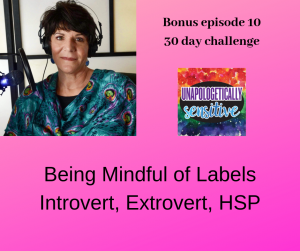 Bonus Episode 10 | Unapologetically Sensitive Podcast | Patricia Young, HSP Therapist | Therapy for Highly Sensitive Persons | Therapy for HSPs | Online Therapy in CA | San Diego, CA 92104