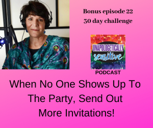 Bonus Episode 22 | Unapologetically Sensitive Podcast | Patricia Young, HSP Therapist | Therapy for Highly Sensitive Persons | Therapy for HSPs | Online Therapy in CA | San Diego, CA 92104