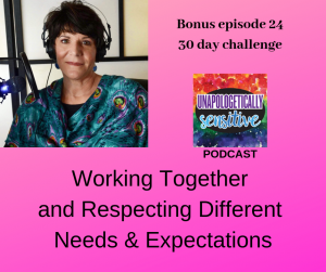 Bonus Episode 24 | Unapologetically Sensitive Podcast | Patricia Young, HSP Therapist | Therapy for Highly Sensitive Persons | Therapy for HSPs | Online Therapy in CA | San Diego, CA 92104
